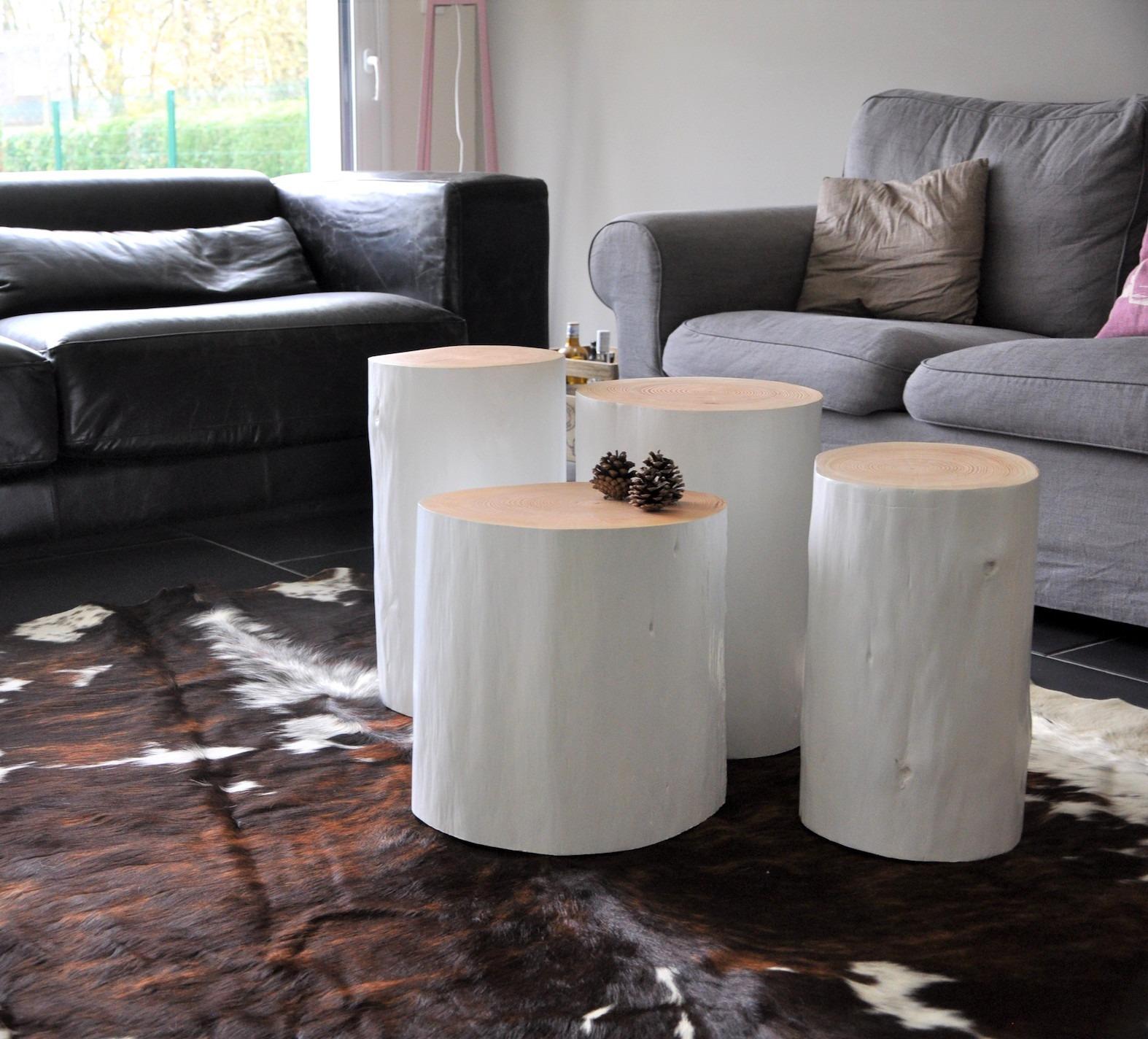 table bout de canap en tronc d 39 arbre seawood design from breizh. Black Bedroom Furniture Sets. Home Design Ideas