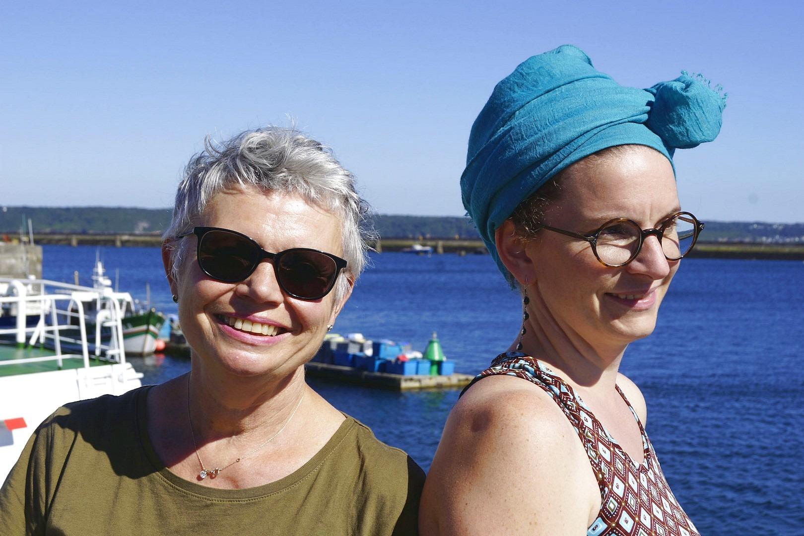 Créatrices de Quais des rêves : Pascale Loget et Stéphanie Max